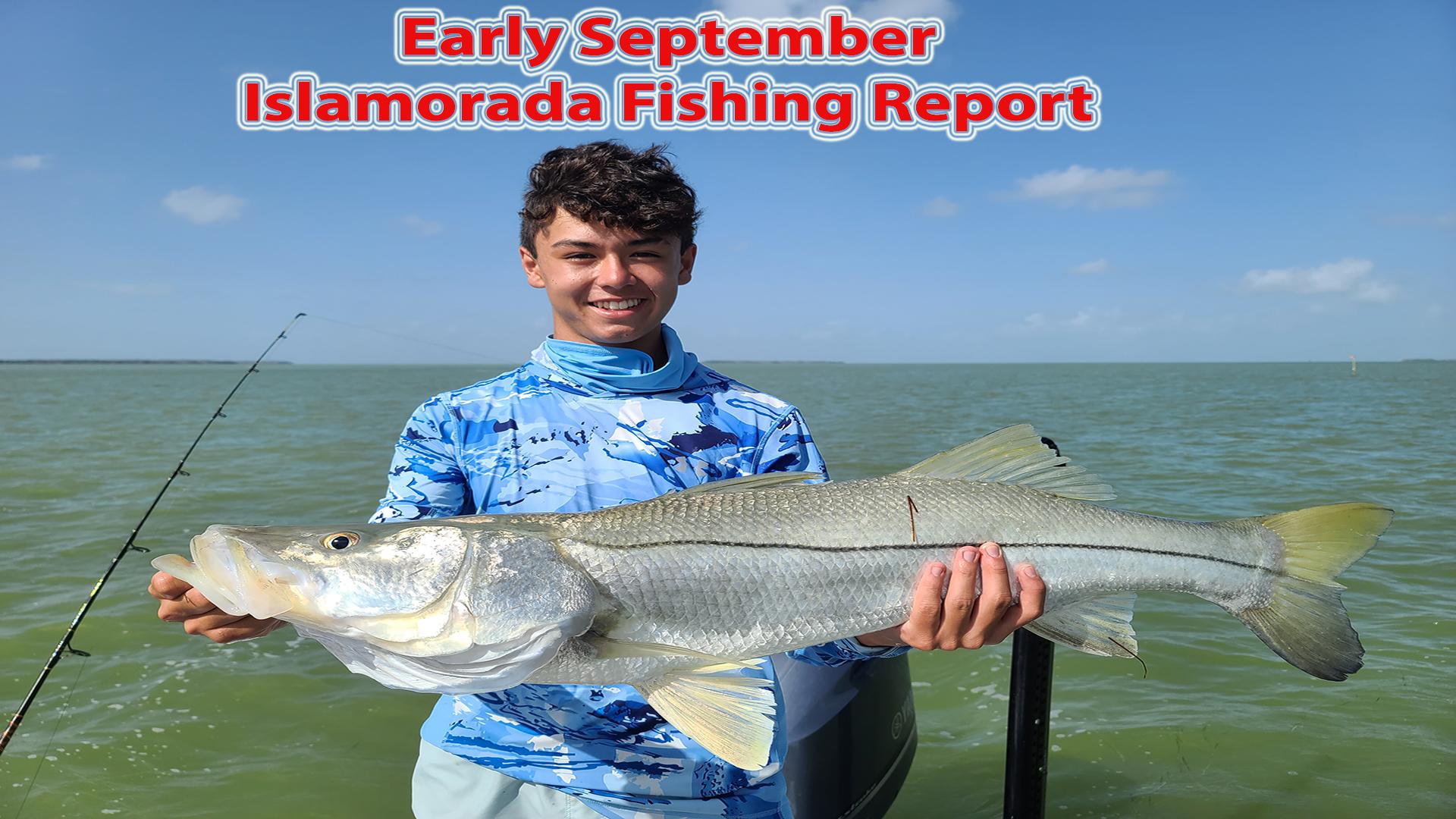 Early September Inshore Fishing Report