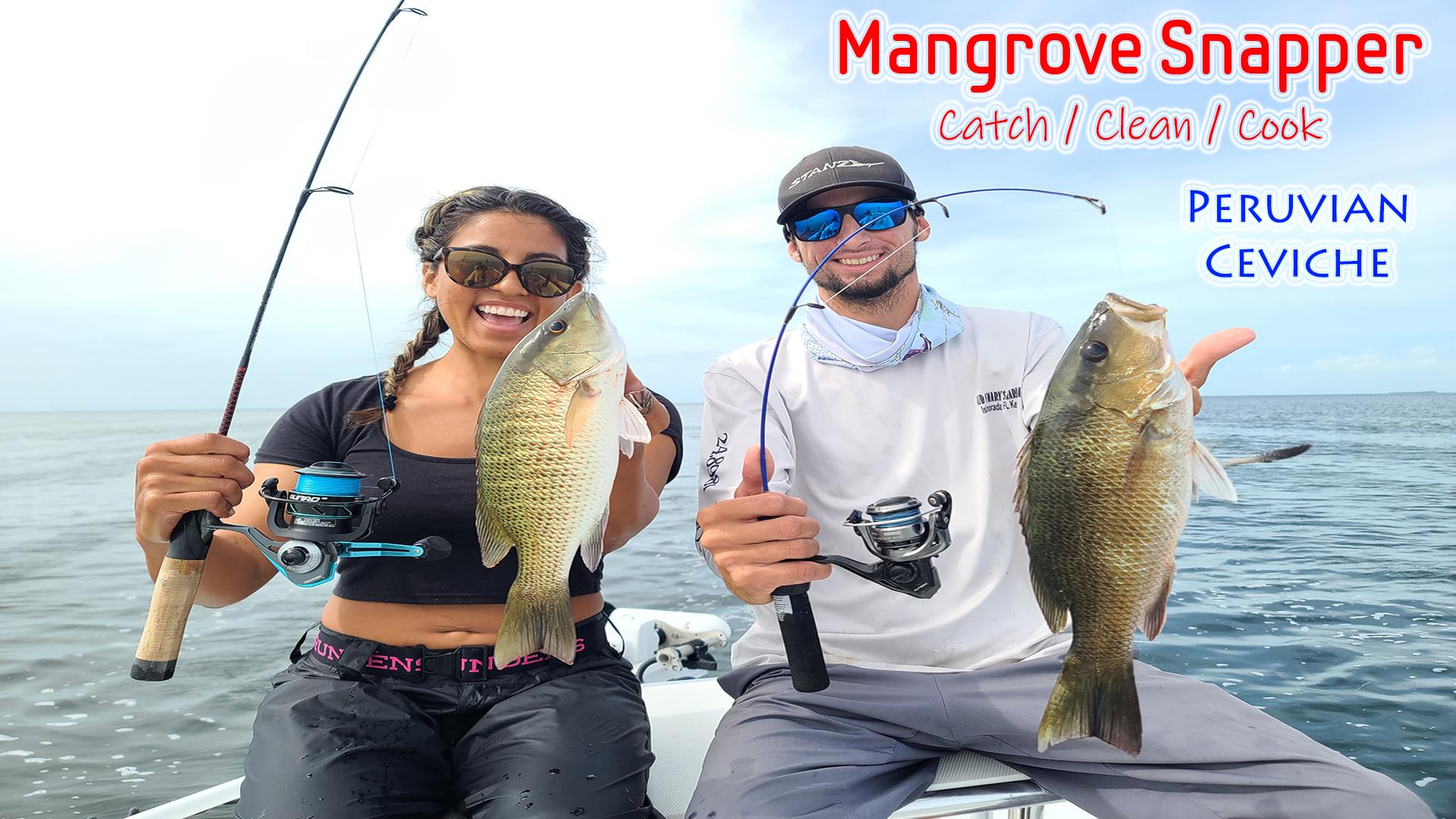 Mangrove Snapper Ceviche!