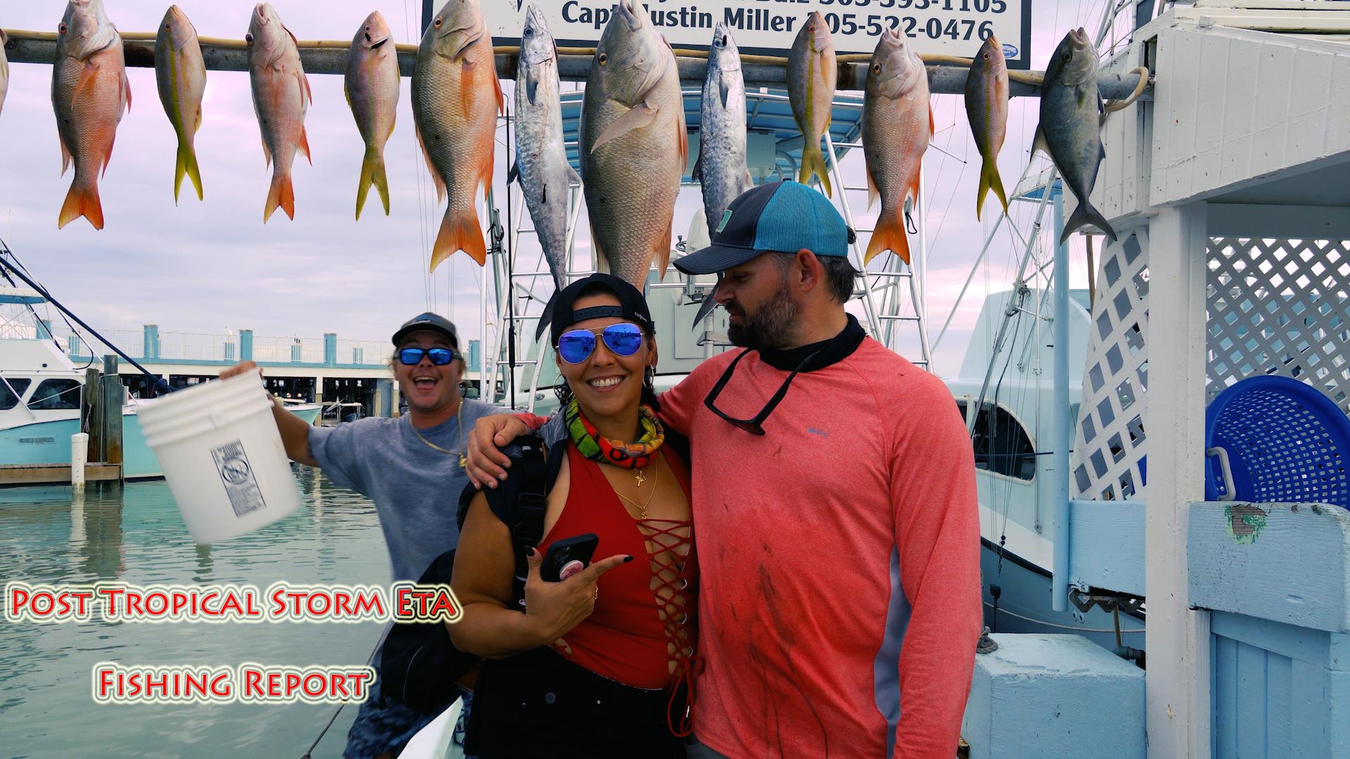 Post Tropical Storm ETA Fishing Report