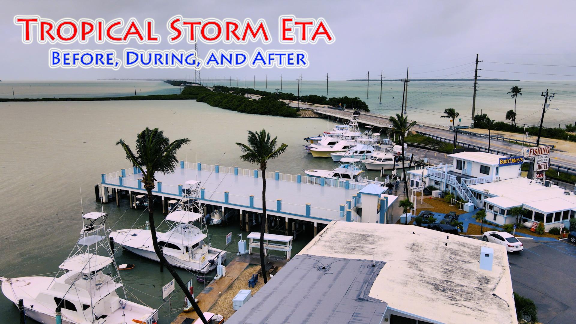 Tropical Storm Eta spared us the worst!