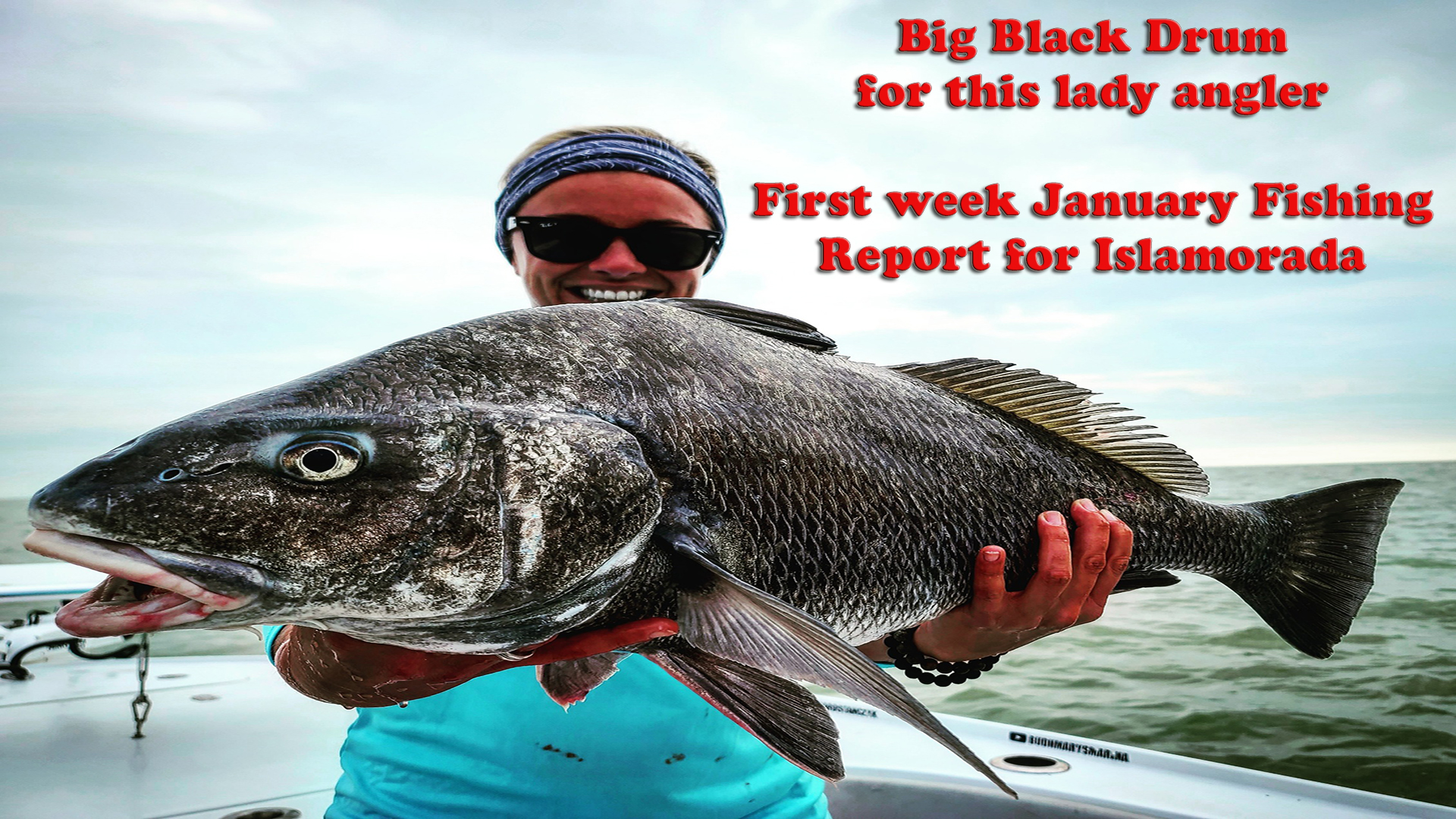 First week of January backcountry fishing report
